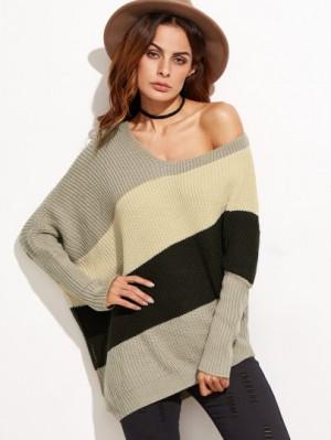 asymetric dolman sleeve sweater