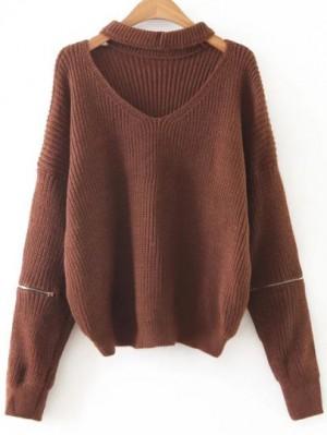 chocker sweater